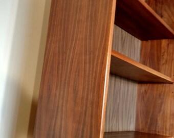 Mid Century Danish Modern Teak Bookcase / Bookshelf / Cabinet