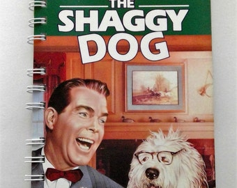 The Shaggy Dog VHS notebook, movie notepad, notebook
