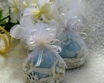 Robin Egg Bath Bomb~Egg Bath Bomb~Bridal Shower Favor~Baby Shower Favor~Blue Egg Bath Bombs~Blue Bath Bomb~Egg Bombs~Eggs In A Nest~