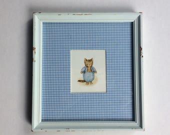 Framed Beatrix Potter Tom Kitten print