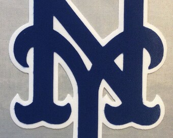 Huge New York Mets Iron On Patch