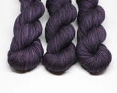 Charred Plum - Oasis Fingering - Superwash Merino Nylon