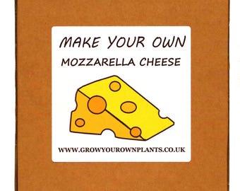 Make Your Own Homemade Mozzarella Cheese Making Kit