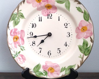 Franciscan Desert Rose, Made In England, Clock Plate