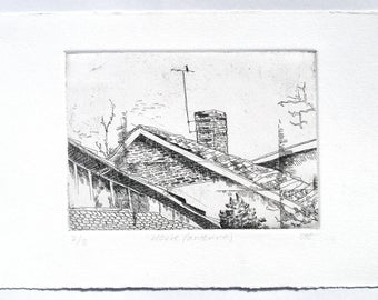 House (antenna) - etching