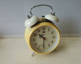 White regis alarm clock