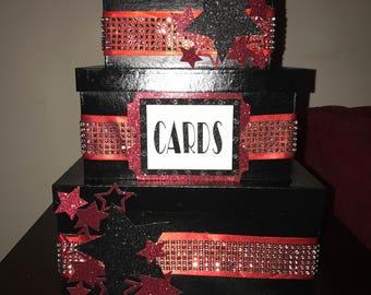 Hollywood Themed Gift Card Box