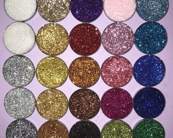 BULK 25-100 Pans Pressed glitter eyeshadow
