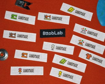 Custom clothing labels tags