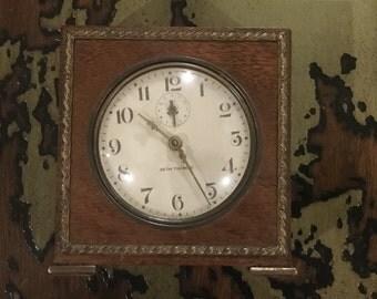 Vintage Seth Thomas Wind-Up Alarm Clock - Severn  Works Great
