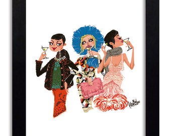 Prada - Fashion Illustration Print Fashion Print Fashion Art Fashion Wall Art Fashion Poster Fashion Sketch illustration Art Print