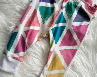 Baby/infant leggings/pants - Geometric