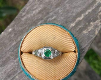 Adorable Art Deco Ring