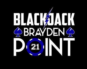 BlackJack Brayden Point - T-Shirt or V-Neck
