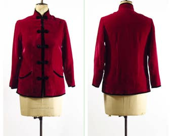 Vintage Chinese Velvet Jacket