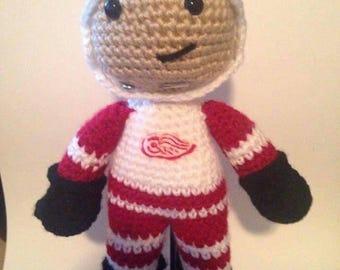 Crochet Hockey Player