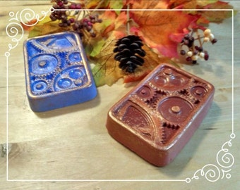 Steamunk Gears Soap Hand Made Aroma Therapy
