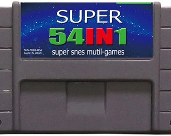 SNES Super 54 in 1 Multicart