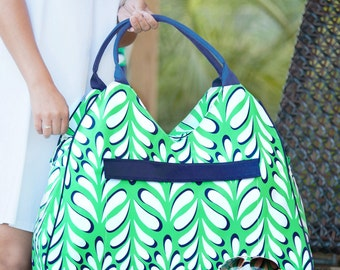 Preppy Palm Beach Bag: Available June 9th