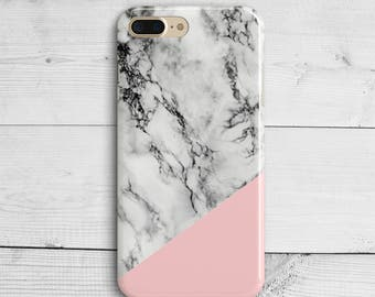 marble rose gold iphone 7 case