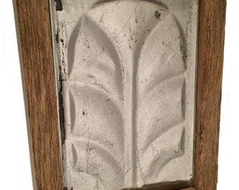 Framed Farmhouse Antique Ceiling Tin                                    Sku: 204
