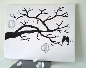 """tree prints """"Serenity now"""""""