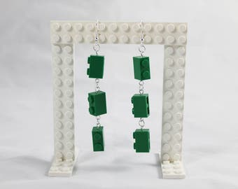 Lego Earrings - Custom Block Dangles