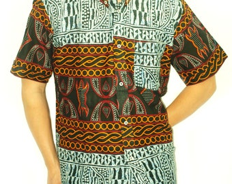 Beautiful shirt in African fabric