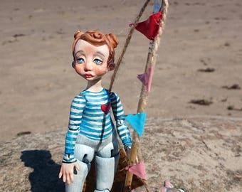 Ooak BJD Doll  Art doll Караблик