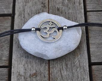 Om symbol bracelet