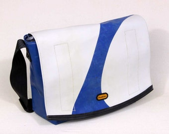 """Petra"" recycled truck tarp bag"