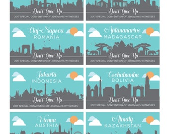 Special Convention 2017 Magnets - City Skylines