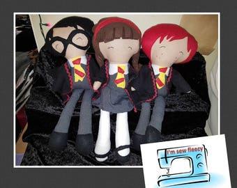 Harry potter inspired dolls