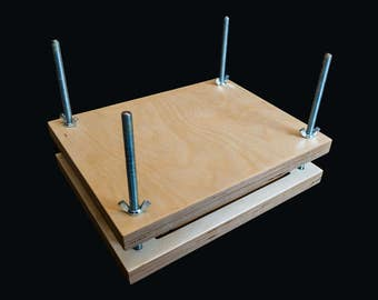 Basic Book Press and Sewing Frame 2-in-1 for Bookbinding