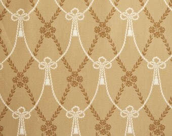 Downton Abbey Home Drapery Ties TAN 8233 BN - Victorian Quilting fabric - Andover Fabrics