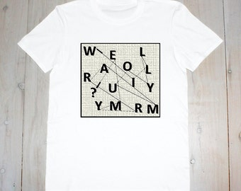 Will You Marry Me? Surprise Proposal Dot-To-Dot- Printed Adult Tee
