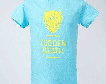Sudden death T-Shirt light blue