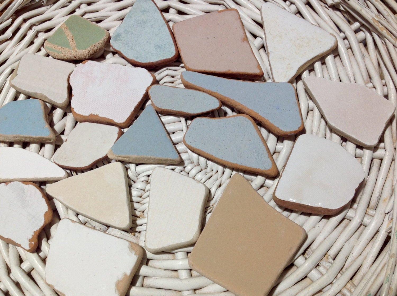 Sea ceramic tile beach find tiles sea ceramic pieces sea tile bulk sold by blackseajewellery dailygadgetfo Gallery