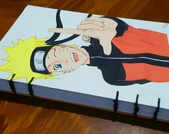 A5 Original Drawing Naruto Planner/Sketchbook