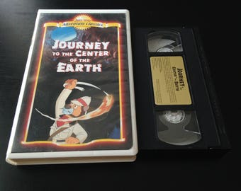 Journey to the Center of the Earth VHS  Animated