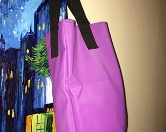Ladies Tote Bags Purple