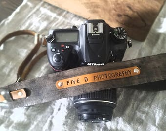 Custom Leather Camera Sling / Camera  shoulder harness