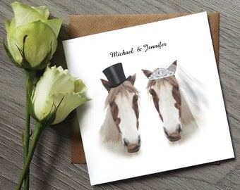 Horse Wedding Invitations - Funny Wedding Invitations - Wedding invitations UK - Wedding Stationery - Wedding - Wedding Invitation