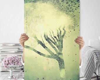 Boho Art Printable - Large Tree - Nature Inspired Print - Printable Art - Quirky Home Decor - Meditation Art - Spiritual Art - Bohemian Art