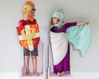 Silver Dragon Wings - Snow Dragon Costume - Mint Dragon - White Dragon - Dragon Costume Wings - Birthday  Gift Kids - Dragon Dress up