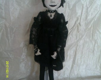 valerie little goth girl