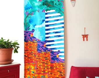 Seoul Kakemono (abstract painting)