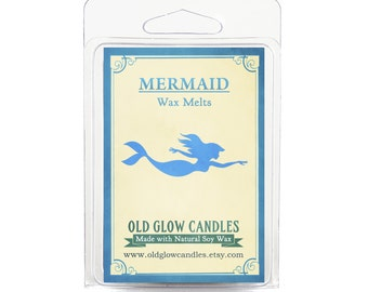 Mermaid Inspired Scented Soy Wax Melts 80g