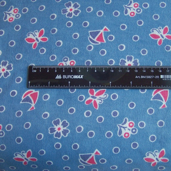 3 7 Meters Of Flannel Cotton Fabric In One Listing