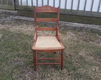 Very nice antique desk chair for a shorter person